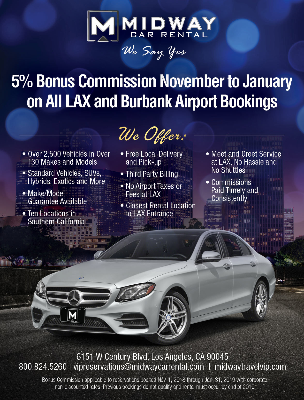 Travel Agent Special Midway Car Rental